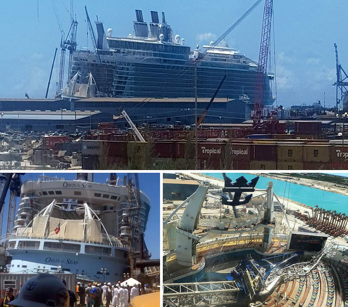 Oasis of the Seas w Grand Bahama Shipyard