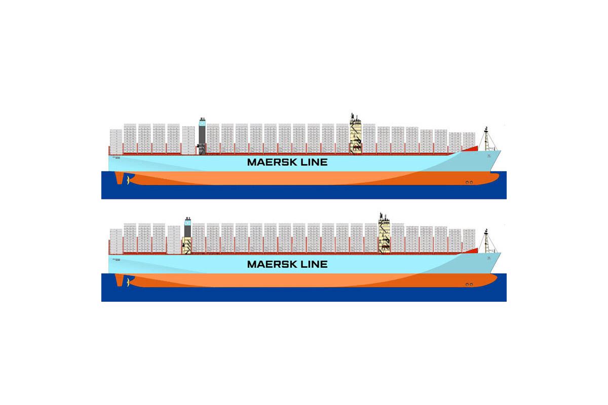 Madrid Maersk - nowy rekordzista wielkości kontenerowców