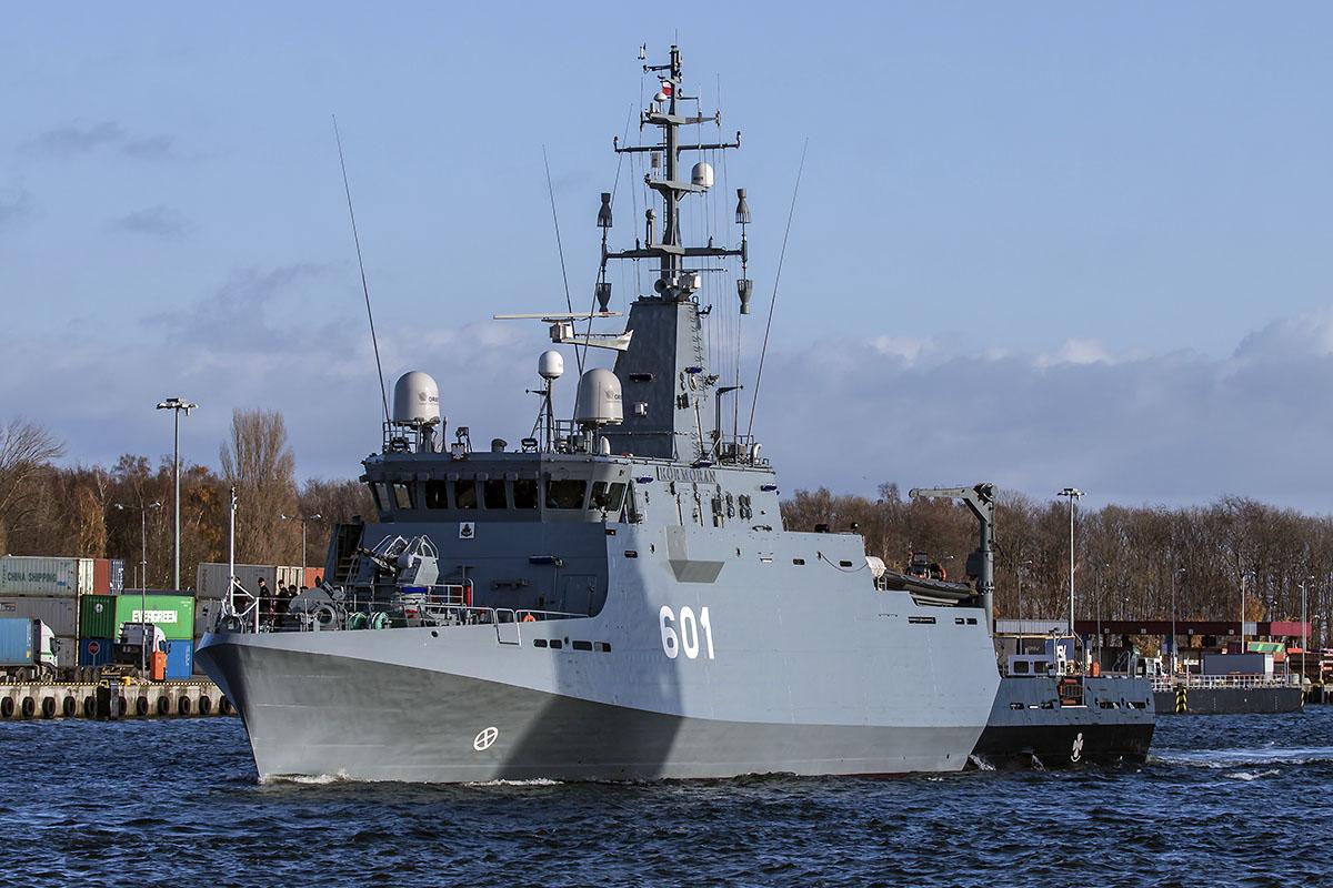220f05479da5d Zintegrowany System Nawigacyjny na najnowszym okręcie Marynarki Wojennej RP