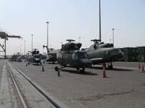 Sprzęt PKW Irak w kraju