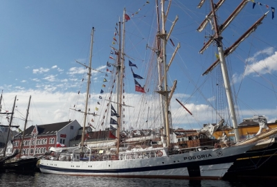 Pogoria na The Tall Ships Races 2018