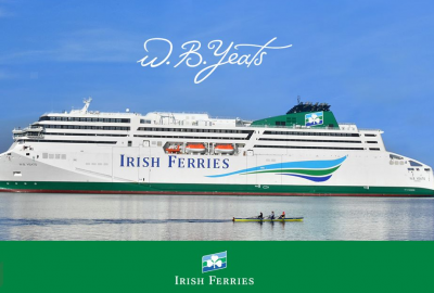 Nowy prom w barwach Irish Ferries [VIDEO]