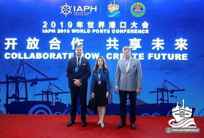 Port Gdańsk na konferencji International Association of Ports and Harbou...
