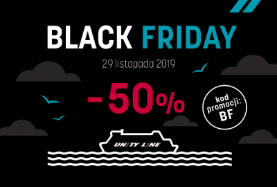 Obłędny Black Friday w Unity Line!